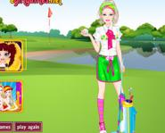 Barbie Golf Oyuncusu